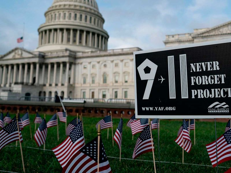 Capitol 911 flags US