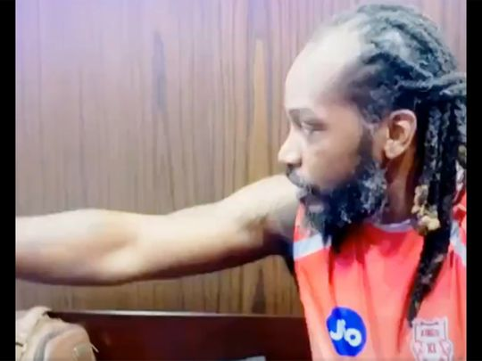 Chris Gayle calls the shots in the King XI Punjab dressing room