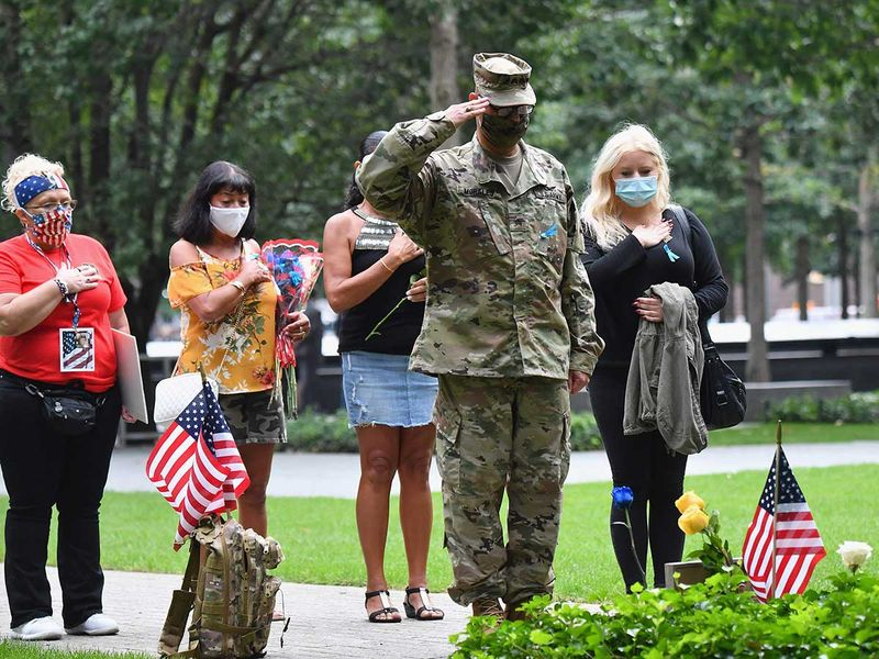 Family members 9/11 attacks New York