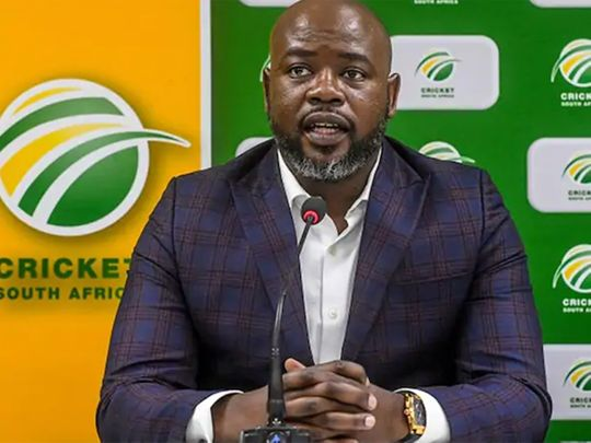 Former Cricket South Africa chief executive Thabang Moroe was sacked nine months after he was first suspended