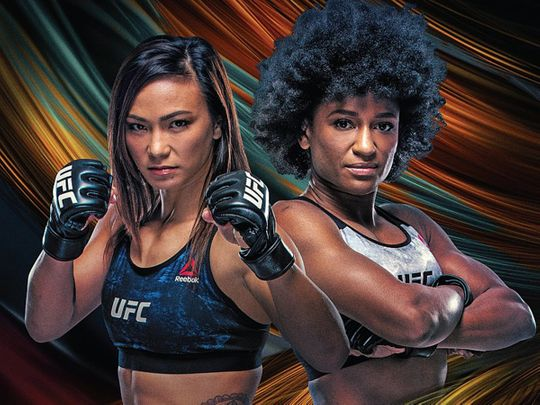 Michelle Waterson and Angela Hill face-off in the main event at UFC Fight Night 117