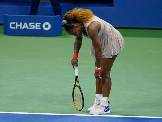 Serena Williams was beaten by Azarenka in the US Open semi-finals
