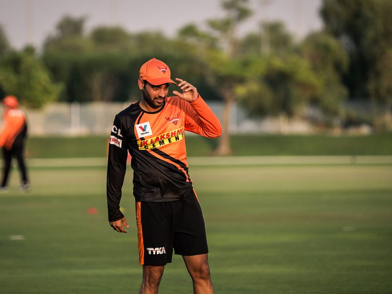 Training with Sunrisers Hyderabad