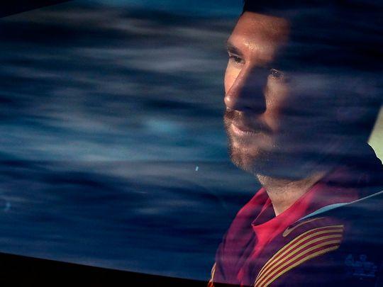 Lionel Messi is back training with Barcelona as La Liga returns