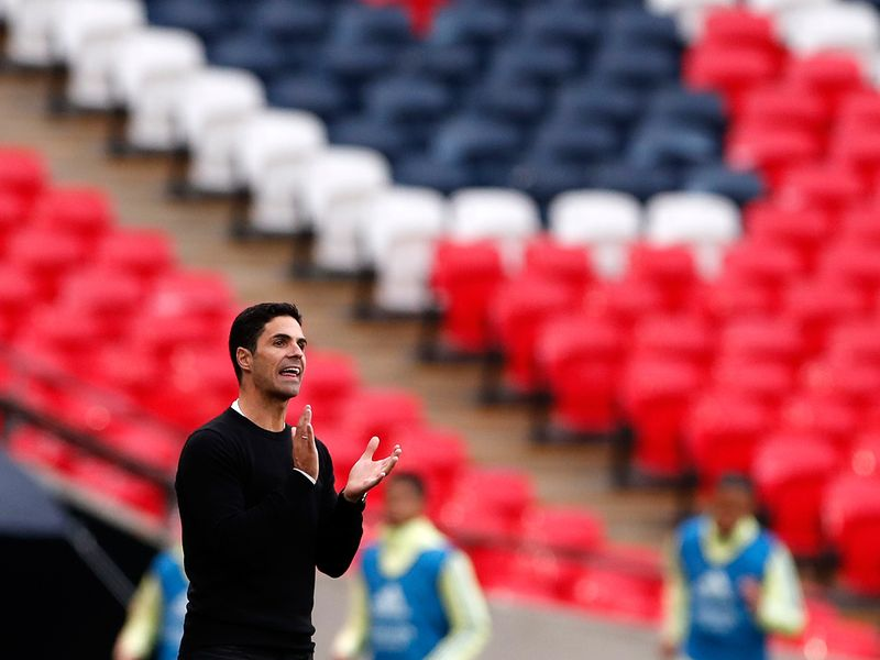 Mikel Arteta and Arsenal recovered from coronavirus to win the FA Cup last season