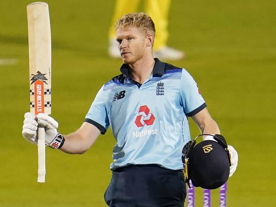England's Sam Billings