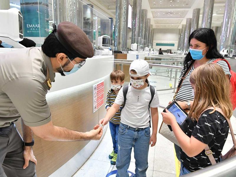 First batch of Russian tourists land in Dubai