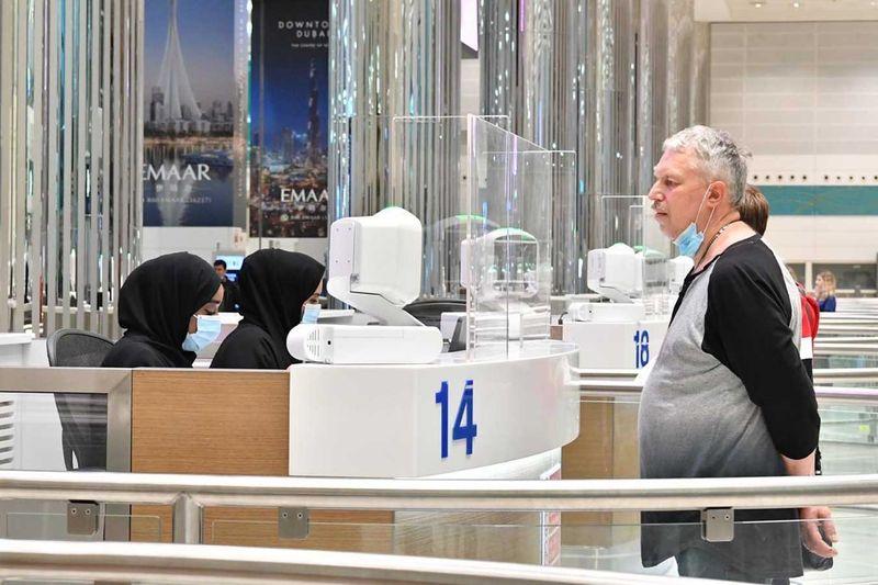 Second Russian tourist at Dubai Airport