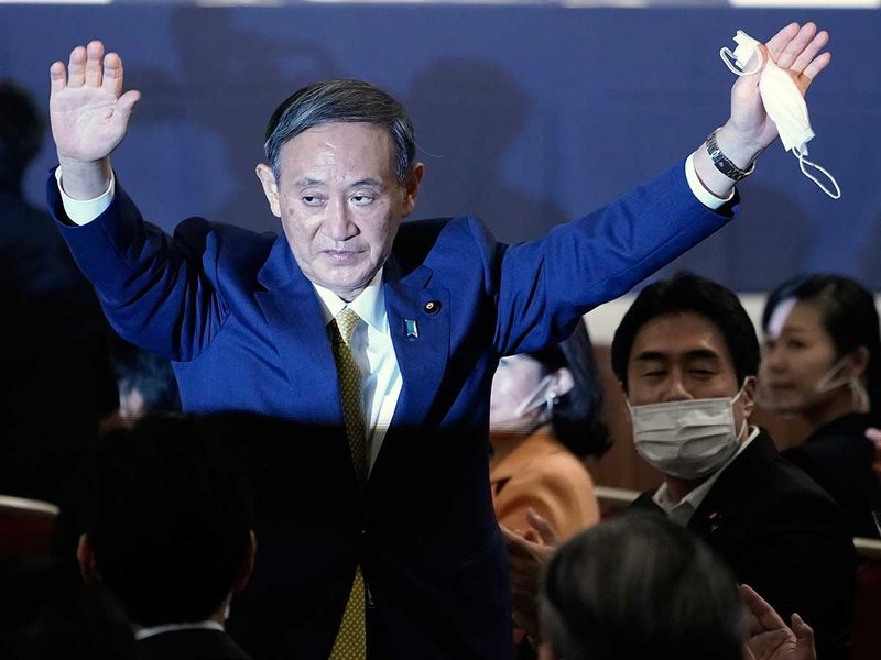 NEWSMAKER: Yoshihide Suga — The right-hand man is now centre stage