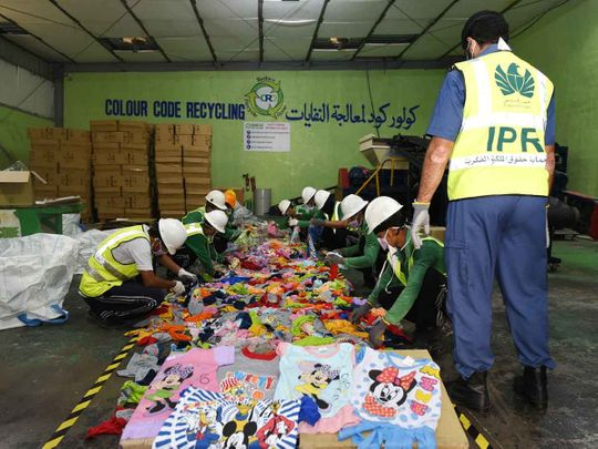 NAT Dubai Customs recycles counterfeits-1600079978703