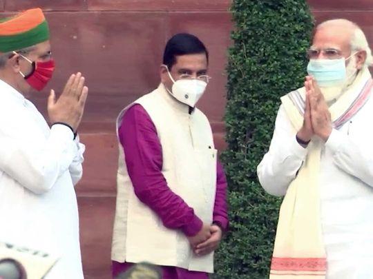 Prime Minister Narendra Modi parliament