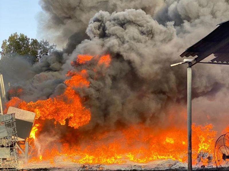 Ajman fire