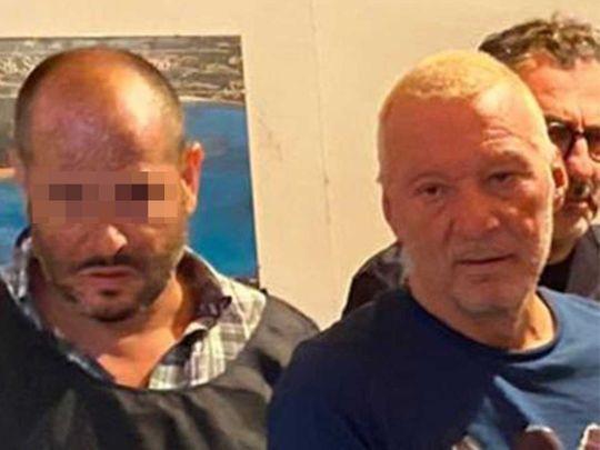 Italian murderer and fugitive Giuseppe Mastini, 60, nicknamed