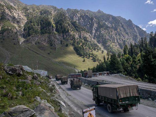 Kashmir convey border