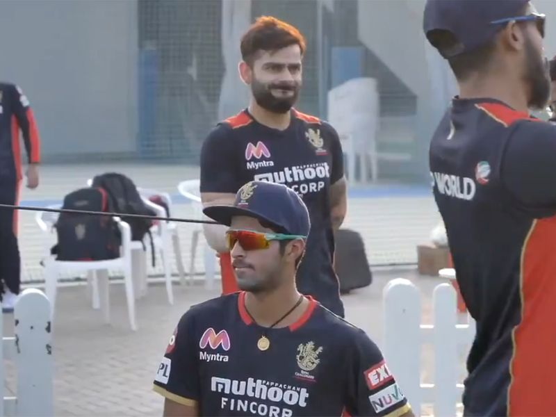 Virat Kohli Royal Challengers Bangalore train