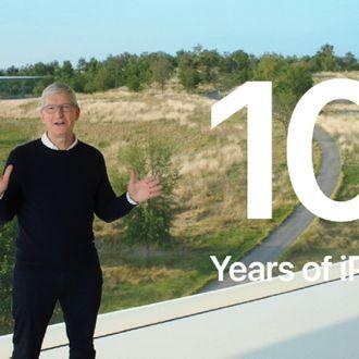 iPad 10 years