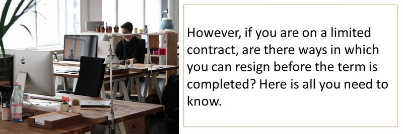 How can I terminate a limited contract