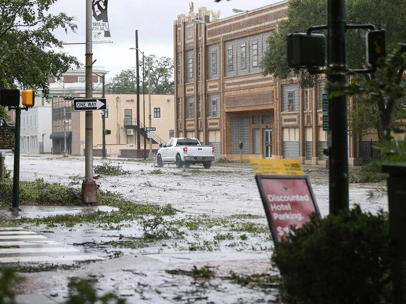 Hurricane Sally in Mobile, Alabama