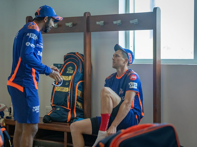 Mumbai Indians train for IPL in UAE