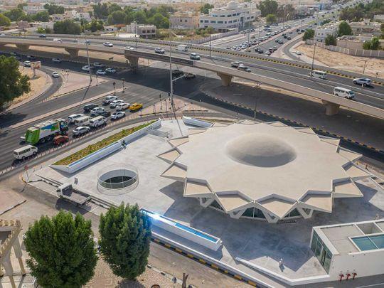 Sharjah Flying Saucer
