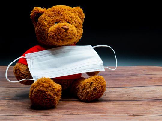 Teddy face mask