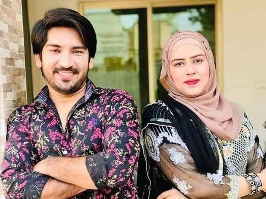 TikToker Adil Rajput and his wife