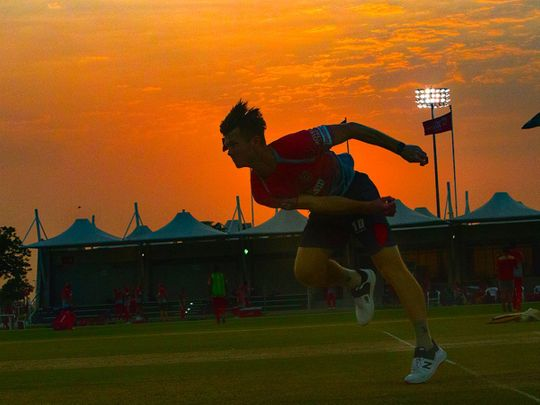 Jimmy Neesham trains with Kings XI Punjab