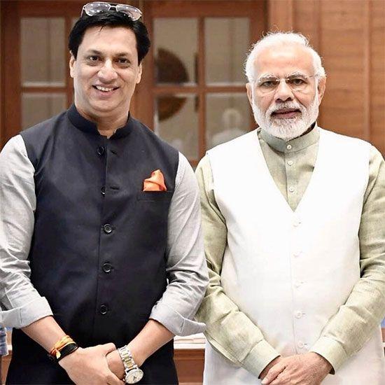 Madhur Bhandarkar  and Narendra Modi