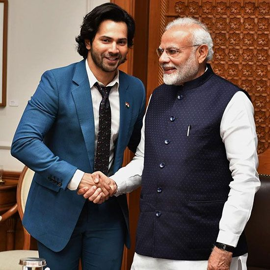 Varun Dhawan and Modi