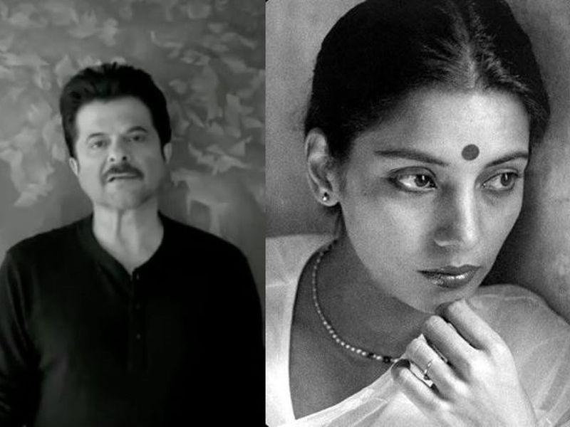 Anil Kappor and SHabana Azmi