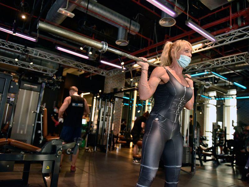 Dubai gym