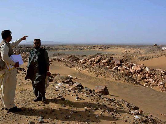 Pakistan Reko Diq gold and copper mine Balochistan