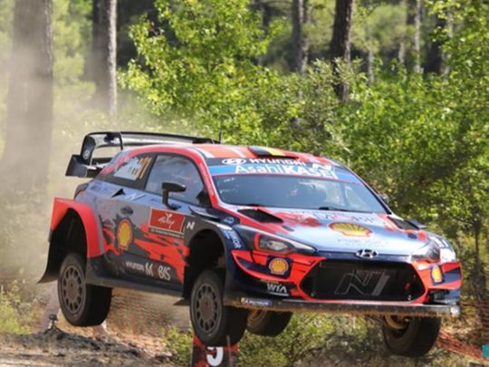 Action from Rally Turkey