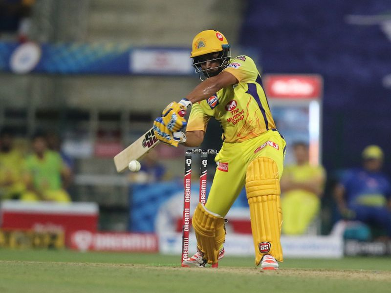 Ambati Rayudu of the Chennai Superkings in action.