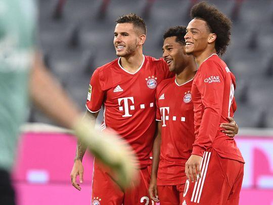Bayern opened their Bundesliga season with an 8-0 win