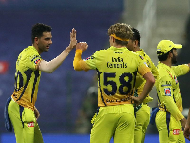 CSK were celebrating as De Kock departed on 33 after Sharma was removed on 12.