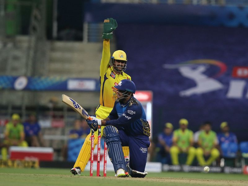Chennai skipper MS Dhoni was pretty happy at the innings break as champs Mumbai were held to 162-9.
