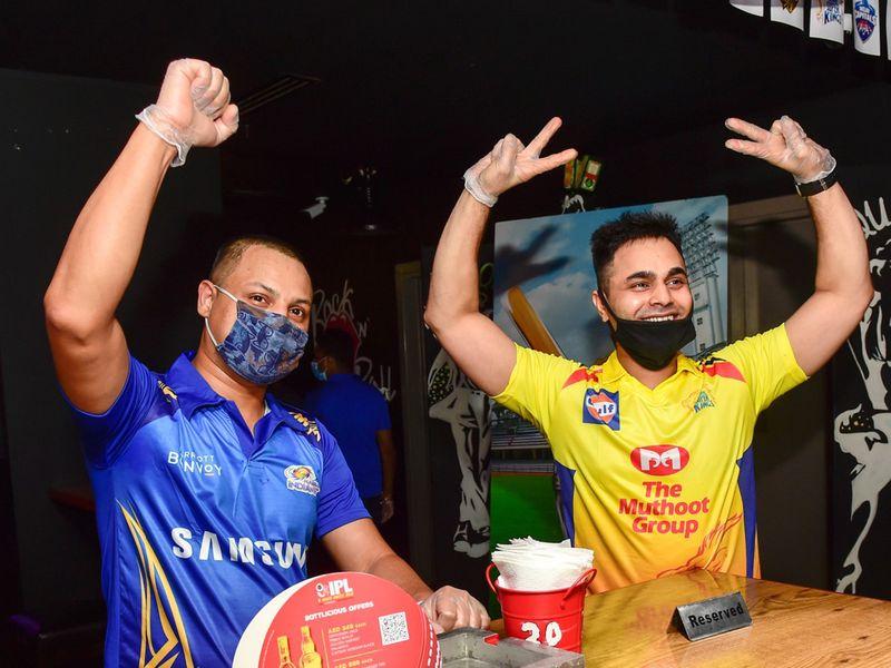 Fans celebrate start of IPL 2020 in UAE