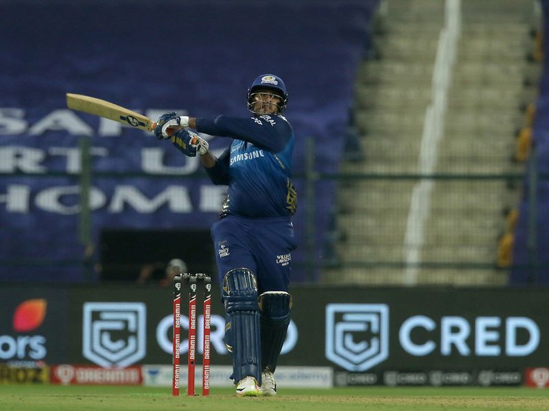 Saurabh Tiwary put on 42 runs for Mumbai before he walked. Hardik Pandya went on 14 runs, leaving Keiron Pollard to see them home in their innings.