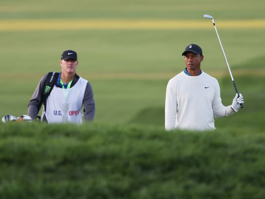 Tiger Woods missed the US Open cut