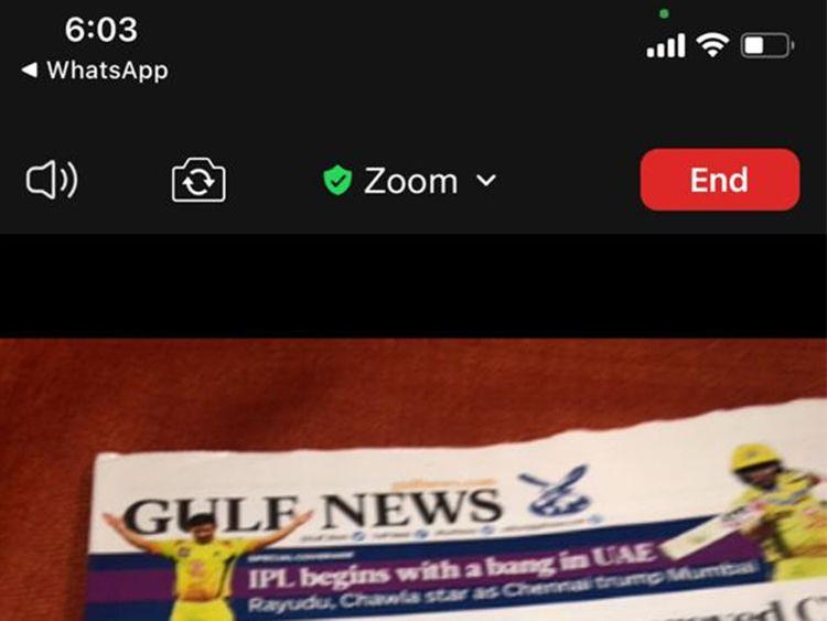 gulfnews.com - Sara Al Shurafa - UAE: New coloured dots on your iPhone? Telecommunications Regulatory Authority clarifies new iOS 14 feature