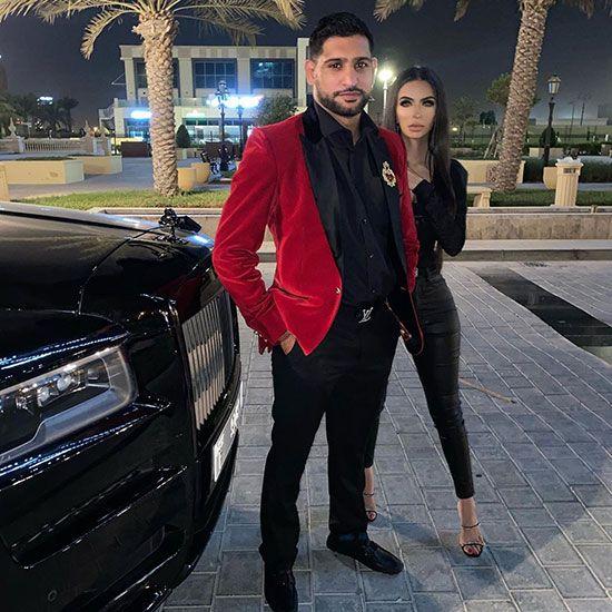 Amir Khan in Dubai