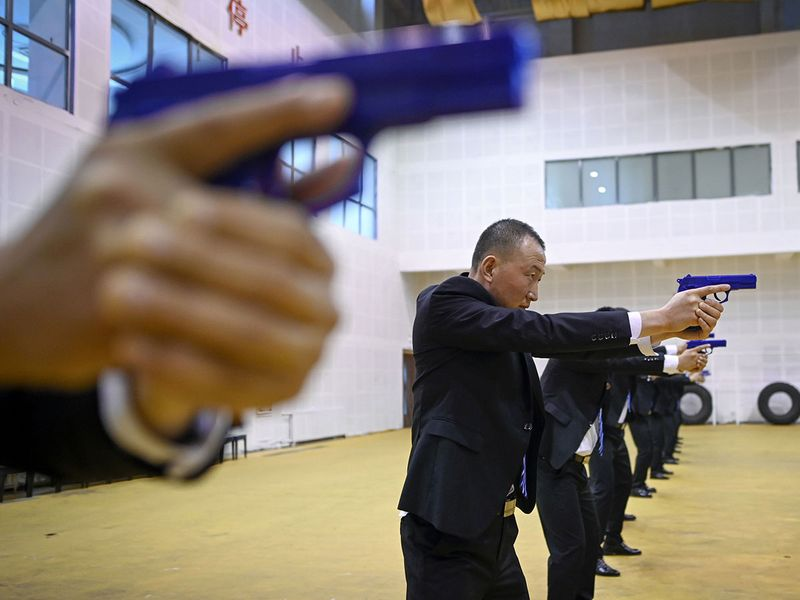 China bodyguards gallery