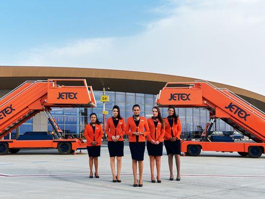 Jetex private jet Dubai