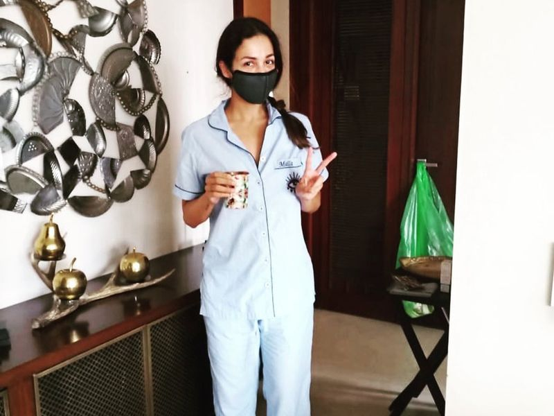 Malaika Arora feeling 'blessed' after end of quarantine
