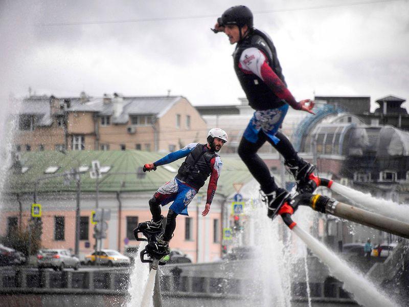 Russia water festval