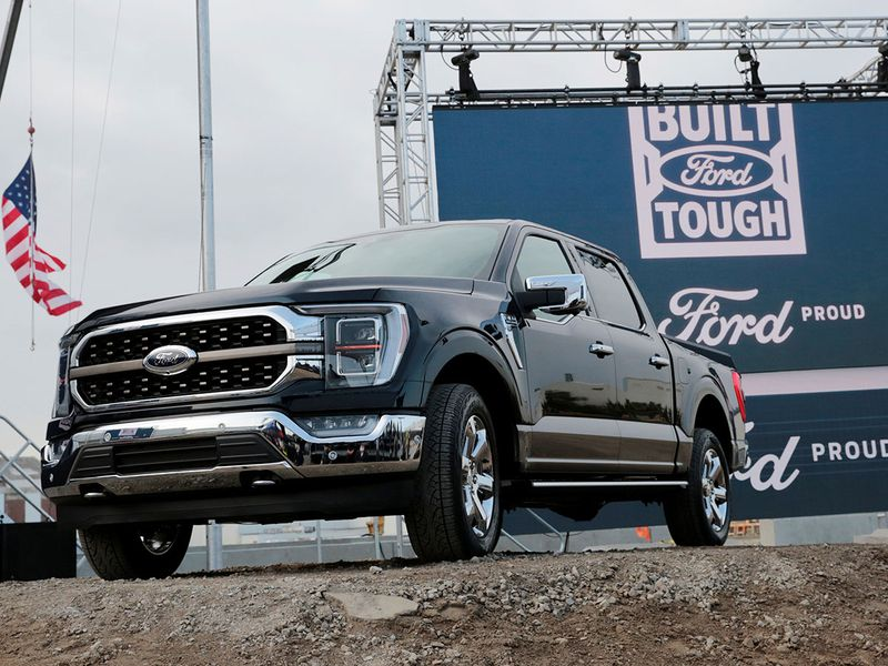 Ford builds its most advanced factory to make electric truck