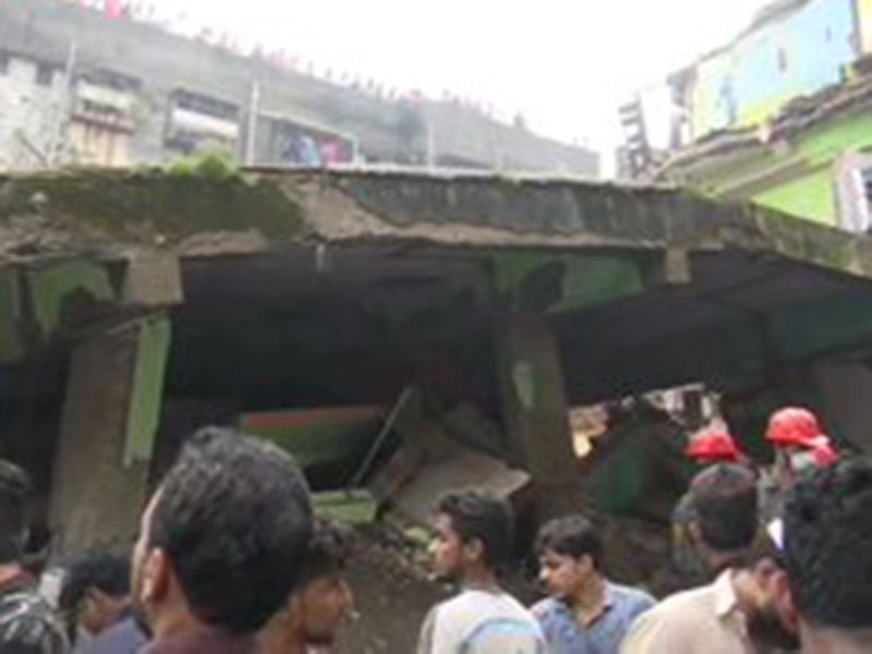India: 8 dead after three-storey building collapses in Maharashtra's Bhiwandi