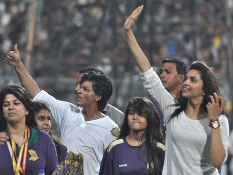 Deepika Padukone and IPL and Shahrukh Khan