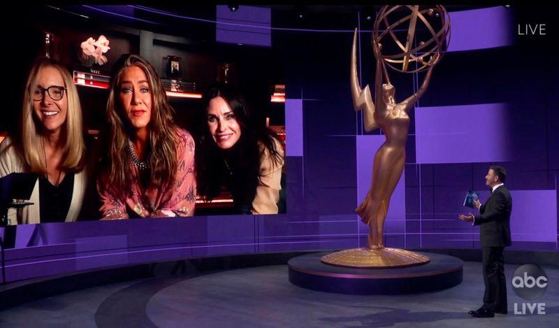 Emmys Friends reunion